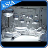 Popular Decoration Sliver Inflatable Mirror Ball, Inflatable Stainless Steel Spheres