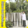 China Superior Design Stainless Steel Metal Large Garden Planters