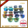 F7018 Glassic Sunglasses with Colorful Wooden Arms