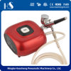 HS08-6AC-Sk Airbrush Compressor High Performance Multi-Purpose Gravity Feed Dual-Action Kit