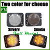 for Jeep Smoked LED Turn Signal Yellow Front Fender Wheel Side Light