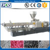 Plastic Twin Screw Extruder PVC Granules Pelletizer Machine