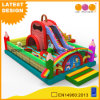 Schoolbag Fun City Inflatable Slide Amusement Park (AQ01798)