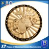Zinc Alloy Marine Corps Coin with Enamel Dual Plating Finish (coin105)