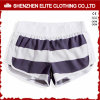Comfortable High Quality Blue and White Strip Swimwear Beach Shorts 9eltbsi-43)