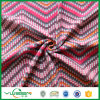 Check Design Polar Fleece Fabric with Two Sides Brush