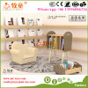 Wooden Schoolbag Storage Cabinet Preschool Wooden Step Cabinet