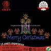 LED Candle Ce RoHS IP65 220V 12V Letter Merry Christmas Light for Pole Street Decoration