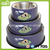 Pet Detachable Bowl Yapee Dog Printing Bowl