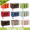 Fabric Foldable Simple Collapsible Food Clothes Storage Box