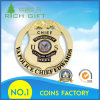 Customized Challenge Coin with Hollow out and Police Badge Design