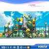 Huaxia Medium Sized Colourful Children′ S Playground with Slides