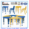 Antique Plastic Chairs and Tables for Children of Nursery School Furniture