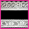 Fashion Nylon Elastic Lace Trimming 128