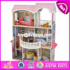 New Arrival Luxurious and Colorful Wooden Large Dollhouse for Kids W06A221
