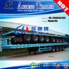 4 Axles 53ft Container Transport Flatbed Semi Truck Trailer