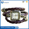 Vintage Leather Wrap Around Watch for Exporting