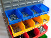 Sturdy Hang Storage Bins, Plastic Box (PK015)