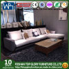 Living Room Furniture Sectional Set Fabric Cushion Arms Sofa (TG-HD03)