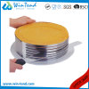 Manufactory Stainless Steel Baking Cake Mould Extendable Round Shape with Cutting Line