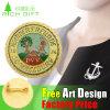 Bar Pin Laser Print Gold Plating Brass Stamping Pin Badge