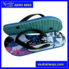 Colorful Print PE Footwear Fashion Slipper for Men