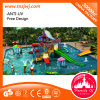 Funny Swimming Pool Playground Equipment Water Slide
