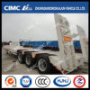 High Quality Cimc Huajun 13m Lowbed Semi-Trailer
