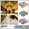 Natural Slate Irregular Slate Net Tile Flag Stone for Garden Paving