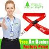 Custom Europe Polyester Nylon Neck Lanyard with Release Buckle