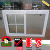 White Color UPVC Profile Insulating Sliding Window with Glass
