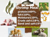 Animal Feed- Shrimp Meal (protein 60%min)