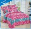 Flower Print Cotton Bedding Quilt
