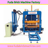 Fully Automatic Concrete Qt4-18 Paver Brick Making Machine