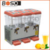 3 Tank 30L Juice Dispenser with Cold and Hot Fuction