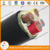 0.6/1kv Annealed Copper Wire XLPE Insulated Flame Retardant PVC Sheath Tray Cable Type Tfr-CV