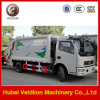 Euro3 3m3, 3cbm, 3 Cubic Meter Compactor Garbage Truck