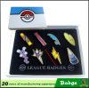 Metal Pokemon Badge Suit with Gift Box