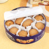 Round Biscuit Tin Can Food Packaging Promotion