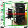 Perforated Metal Gondola Supermarket Display Rack Shelf