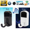 HD 720p WiFi IP Video Recorder Mini Camera Monitor Security Cam Clothes Hook DVR