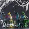 Shining Small Glass Smoking Pipe Bubbler Oil Rigs Czs-104