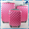 ABS+PC Luggage Print Trolley Bags with Butterfly Pattern Luggage