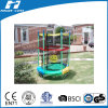 Colorful 55 Inch Mini Kids Trampoline with Enclosure
