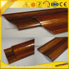 Aluminum Extrusion Wood Grain Profile for Aluminum Sliding Window