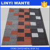Corrugated Roofing Shingles Stone Coated Metal Roof Tile