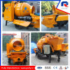28m3 Mixing Output Mini Concrete Mixer with Pump