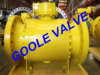 3 PCS Reduced Bore Forged Trunnion Ball Valve