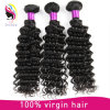 Natural Color Long Lasting Deep Wave Curly Remy Hair Extension