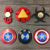 Captain America Hand Finger Spinner Metal Fidget Spinners
